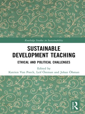 cover image of Sustainable Development Teaching