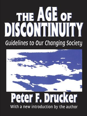 cover image of The Age of Discontinuity