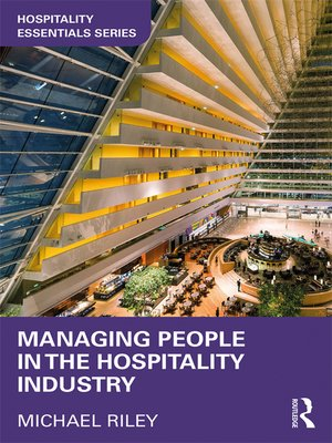 cover image of Managing People in the Hospitality Industry