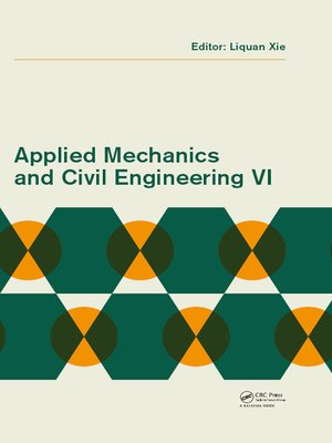cover image of Applied Mechanics and Civil Engineering VI