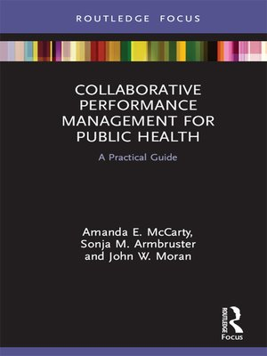 cover image of Collaborative Performance Management for Public Health