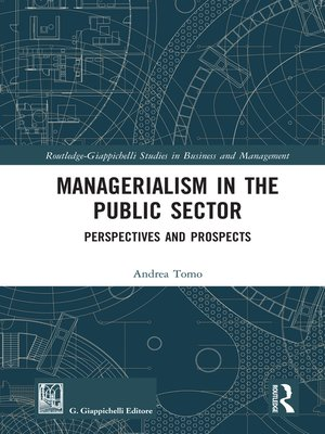 cover image of Managerialism in the Public Sector