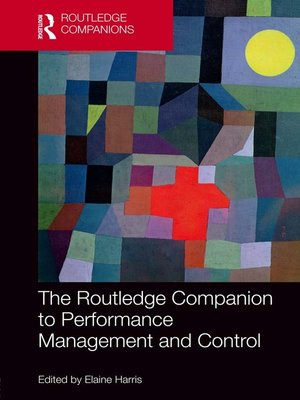 cover image of The Routledge Companion to Performance Management and Control