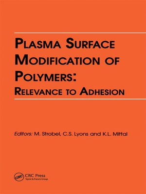 cover image of Plasma Surface Modification of Polymers
