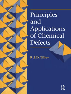 cover image of Principles and Applications of Chemical Defects