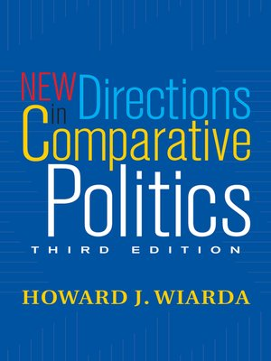 cover image of New Directions In Comparative Politics