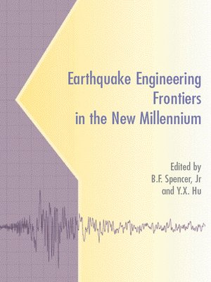 cover image of Earthquake Engineering Frontiers in the New Millennium