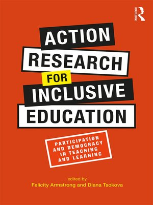 cover image of Action Research for Inclusive Education