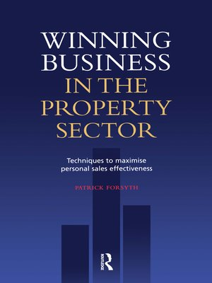 cover image of Winning Business in the Property Sector