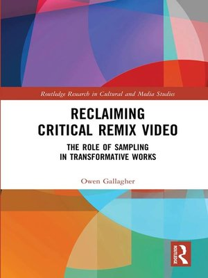 cover image of Reclaiming Critical Remix Video