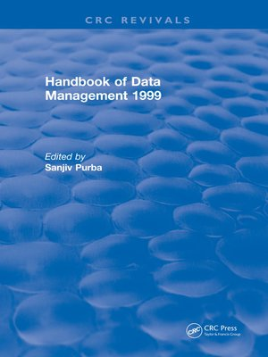 cover image of Handbook of Data Management