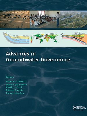 cover image of Advances in Groundwater Governance