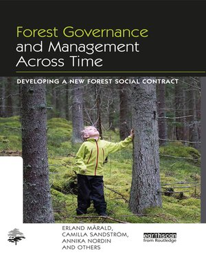 cover image of Forest Governance and Management Across Time