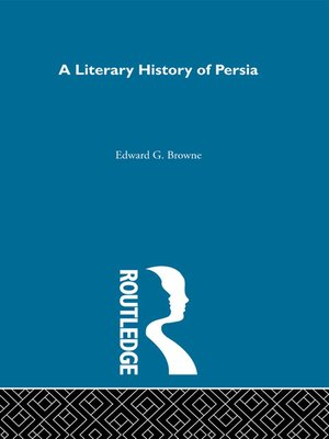 cover image of A Literary History of Persia