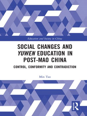 cover image of Social Changes and Yuwen Education in Post-Mao China