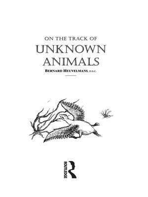 cover image of On the Track of Unknown Animals