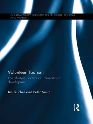 cover image of Volunteer Tourism