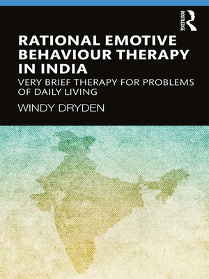 cover image of Rational Emotive Behaviour Therapy in India