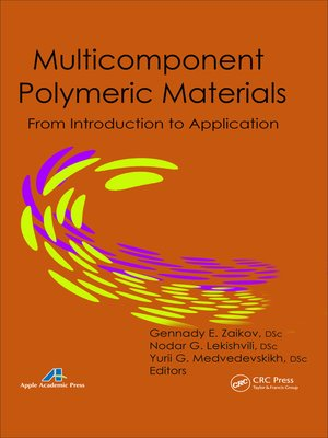 cover image of Multicomponent Polymeric Materials