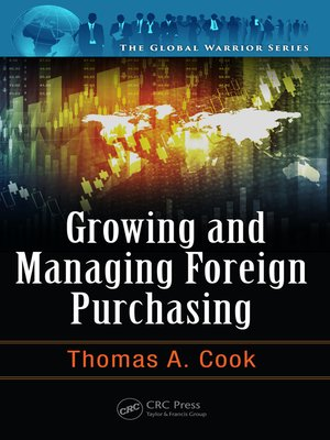 cover image of Growing and Managing Foreign Purchasing