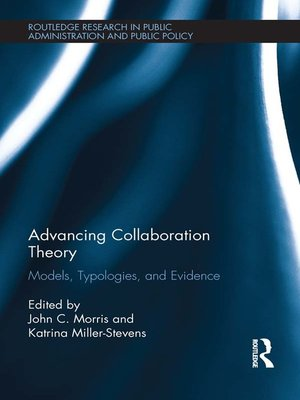 cover image of Advancing Collaboration Theory