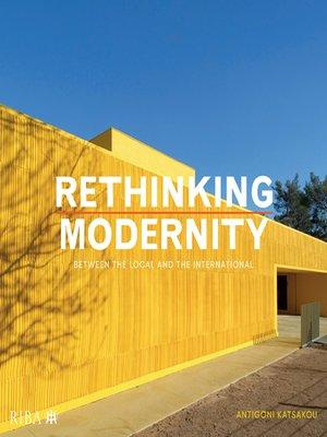 cover image of Rethinking Modernity