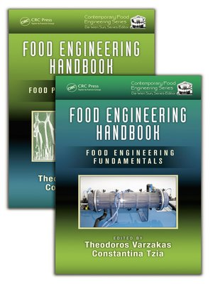 cover image of Food Engineering Handbook, Two Volume Set