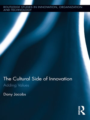 cover image of The Cultural Side of Innovation