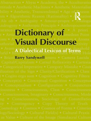 cover image of Dictionary of Visual Discourse