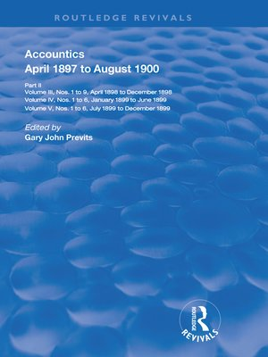 cover image of Accountics, Part II