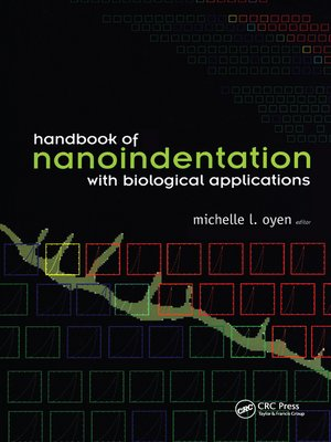 cover image of Handbook of Nanoindentation
