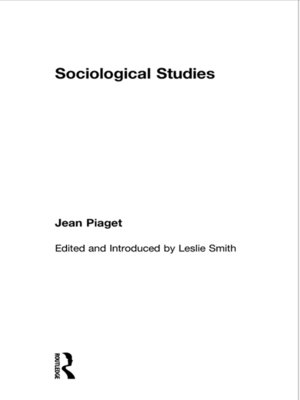 cover image of Sociological Studies