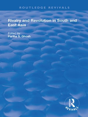 cover image of Rivalry and Revolution in South and East Asia