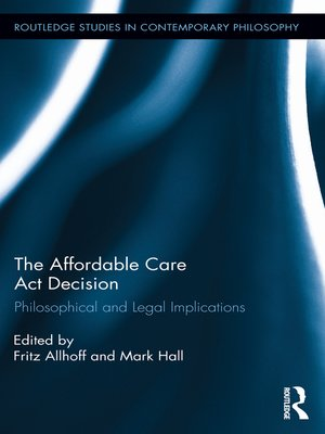 cover image of The Affordable Care Act Decision