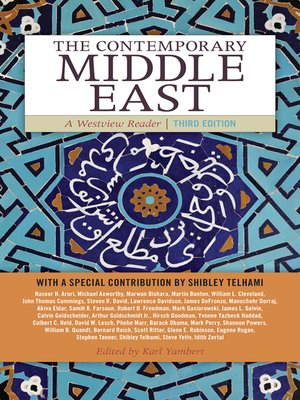 cover image of The Contemporary Middle East