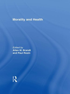 cover image of Morality and Health