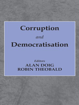 cover image of Corruption and Democratisation