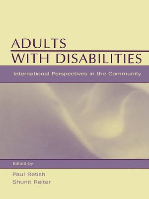 cover image of Adults With Disabilities