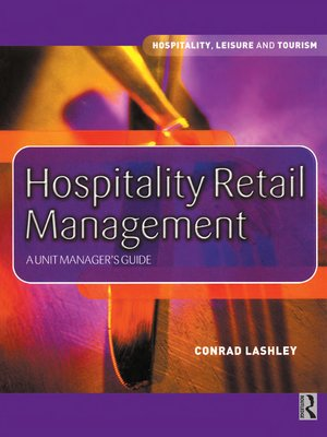 cover image of Hospitality Retail Management