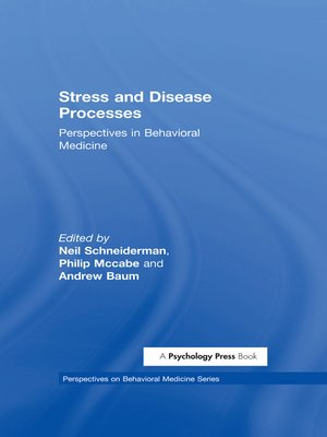 cover image of Stress and Disease Processes