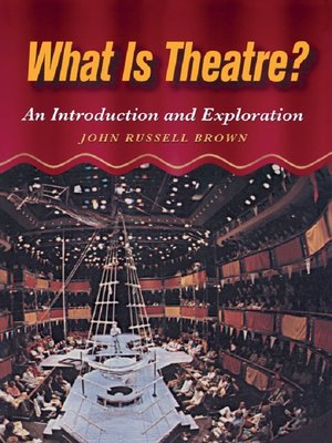 cover image of What is Theatre?