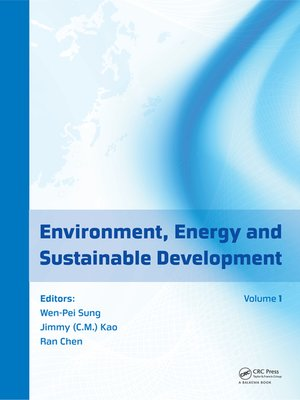 cover image of Environment, Energy and Sustainable Development