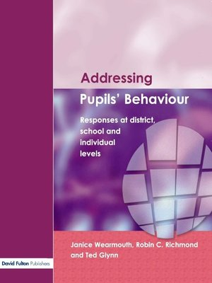 cover image of Addressing Pupil's Behaviour