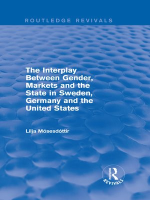 cover image of The Interplay Between Gender, Markets and the State in Sweden, Germany and the United States