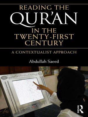 cover image of Reading the Qur'an in the Twenty-First Century