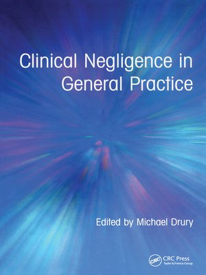 cover image of Clinical Negligence in General Practice