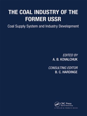 cover image of Coal Industry of the Former USSR