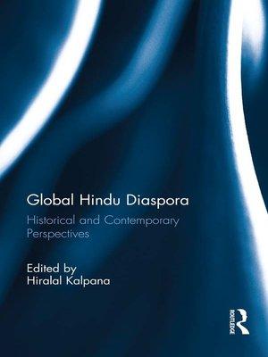cover image of Global Hindu Diaspora