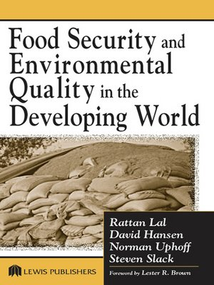 cover image of Food Security and Environmental Quality in the Developing World