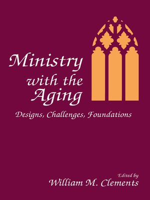 cover image of Ministry With the Aging
